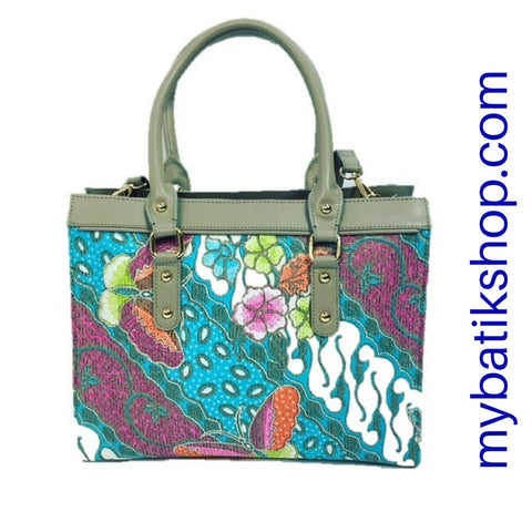 Batik Shoulder/Sling Bag Medium Gray