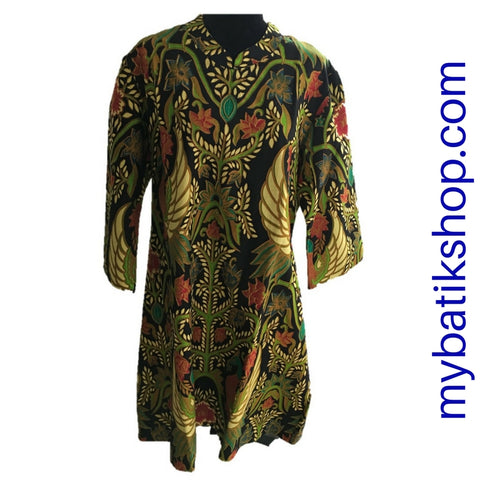 Batik Plus Beautiful Green Dress