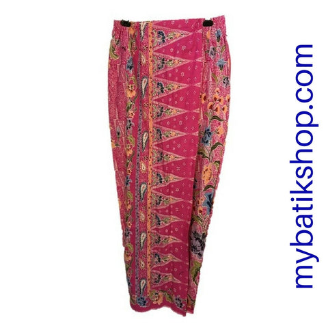 Sarong Skirt Ready Wear - Pink