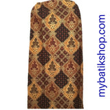 Batik for Girls - Classic Brown Sarong Skirt