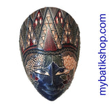 Wooden Batik Mask Wall Decoration Medium