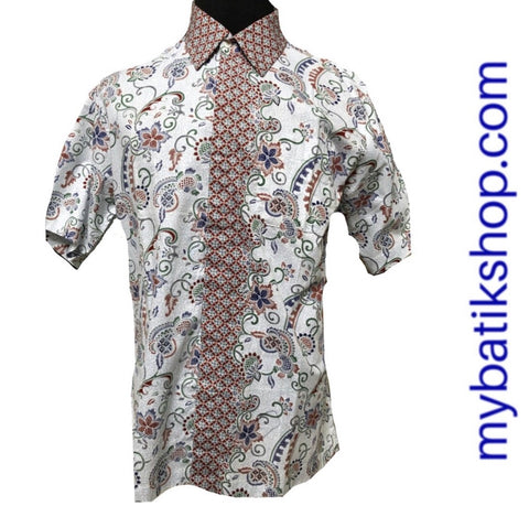 Family Batik - Men Light Blue