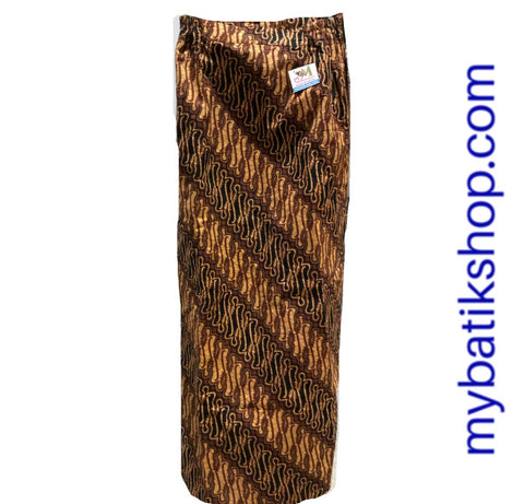 Batik for Misses - Classic Brown Sarong Skirt