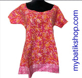 Batik Doby Bright Sunkiss Top