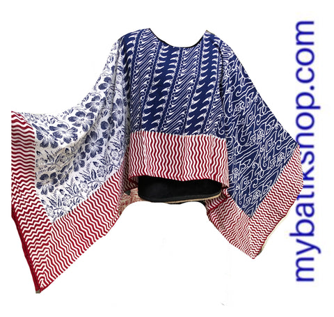 Mix 'n Match Paris Modern Batik Top
