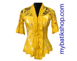 Kebaya Semi France Yellow