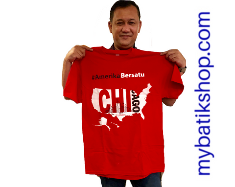 Amerika Bersatu Shirt Chicago Limited Edition