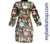 Batik Career Dress
