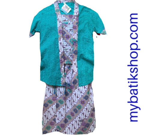 Kebaya for Girls - Kutubaru Set