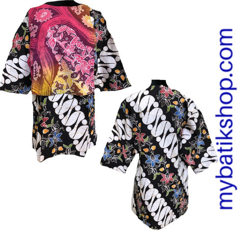Batik Tulis Top Parang Abstract Mix