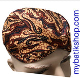 Batik Blangkon Structured Brown