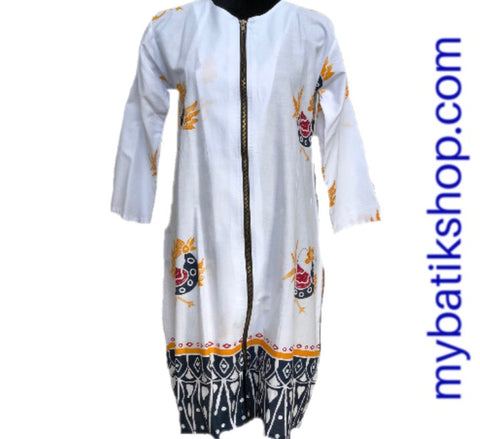 Batik Tunic Chicken White