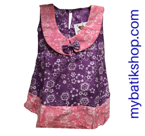 Dress for Baby Pink Purple