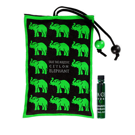 FOREST TRAIL - Ceylon Elephant Aroma Sachet SPA CEYLON Natural Luxury Ayurveda