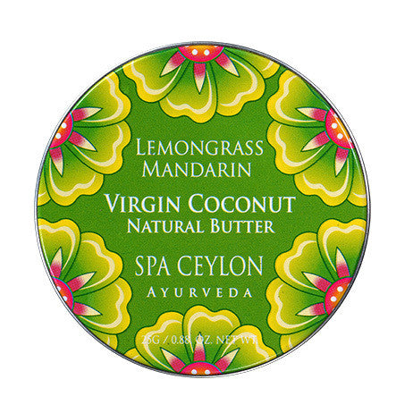 Lemongrass Mandarin - Virgin Coconut Natural Butter SPA CEYLON Natural Luxury Ayurveda