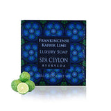 Frankincense Kaffir Lime Luxury Soap, BATH & BODY, SPA CEYLON AUSTRALIA