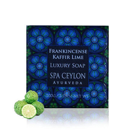 Frankincense Kaffir Lime Luxury Soap SPA CEYLON Natural Luxury Ayurveda