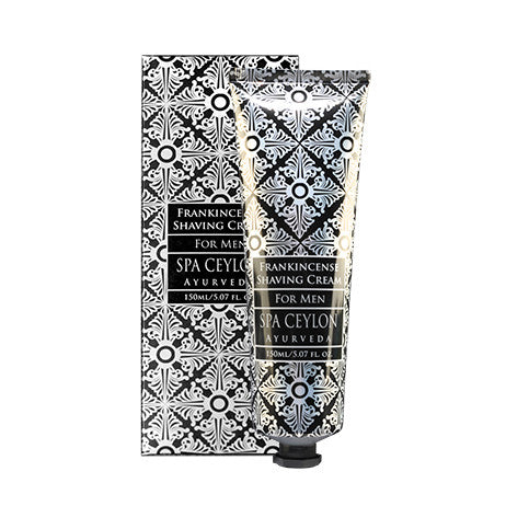 FRANKINCENSE Shaving Cream SPA CEYLON Natural Luxury Ayurveda