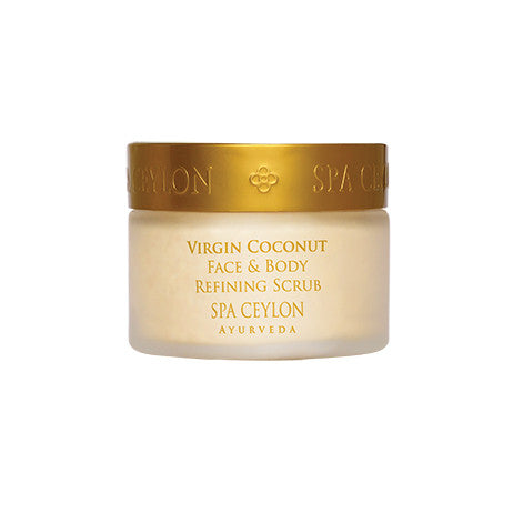 VIRGIN COCONUT - Face & Body Refining Scrub SPA CEYLON Natural Luxury Ayurveda