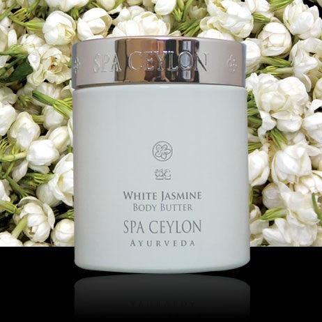 WHITE JASMINE Body Butter SPA CEYLON Natural Luxury Ayurveda