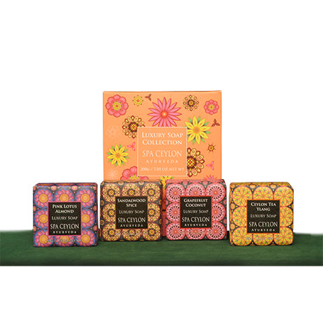 Luxury Soap Collection 2 - SPA CEYLON Natural Luxury Ayurveda BATH & BODY