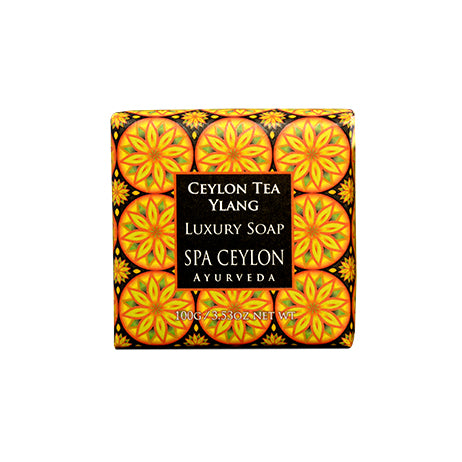 Ceylon Tea Ylang Luxury Soap, BATH & BODY, SPA CEYLON AUSTRALIA