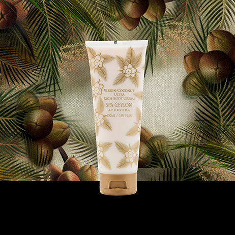 Virgin Coconut  - Ultra Rich Body Cream, BATH & BODY, SPA CEYLON AUSTRALIA
