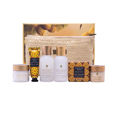 Virgin Coconut - Home Spa Set, GIFT SETS, SPA CEYLON AUSTRALIA
