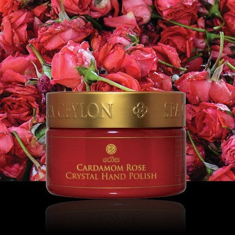 CARDAMOM ROSE Hand Polish SPA CEYLON Natural Luxury Ayurveda
