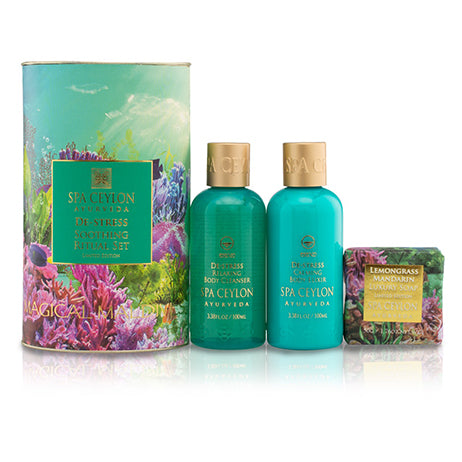 "De-Stress - Festive Ritual Set ""Limited Edition"", GIFT SETS, SPA CEYLON AUSTRALIA"