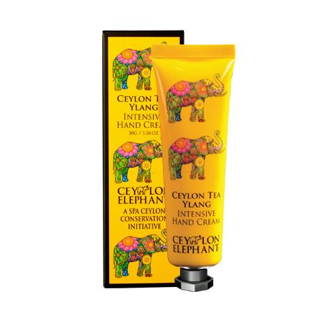 Ceylon Elephant - Ceylon Tea & Ylang Intensive Hand Cream - SPA CEYLON Natural Luxury Ayurveda Hand Care