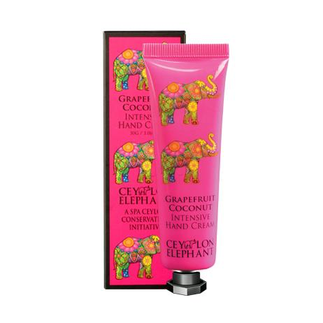 Ceylon Elephant - Grapefruit And Coconut Intensive Hand Cream, Hand Care, SPA CEYLON AUSTRALIA