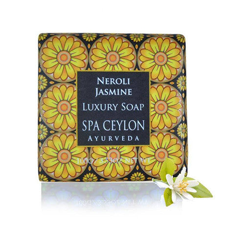 Neroli Jasmine Luxury Soap, BATH & BODY, SPA CEYLON AUSTRALIA