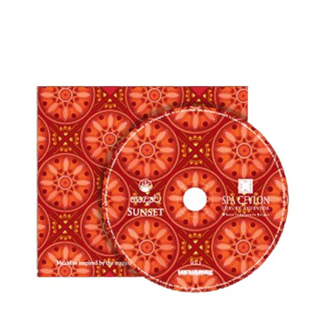 Sunset - Music Album - SPA CEYLON Natural Luxury Ayurveda MUSIC CD