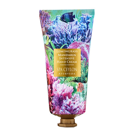 Lemongrass Mandarin Intensive Hand Cream - Limited Edition - SPA CEYLON Natural Luxury Ayurveda Hand and Nail Cream