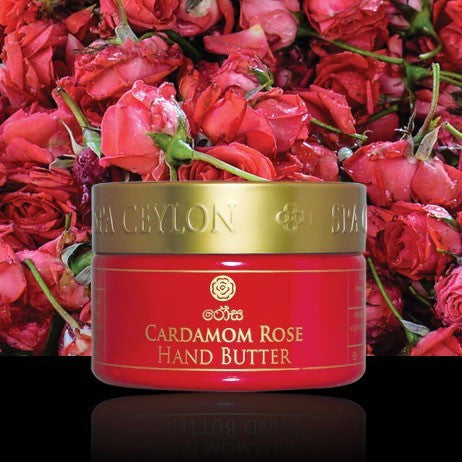 CARDAMOM ROSE Hand Butter SPA CEYLON Natural Luxury Ayurveda