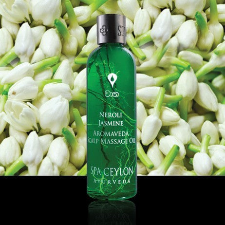 Neroli Jasmine - Scalp Massage Oil, Hair Care, SPA CEYLON AUSTRALIA
