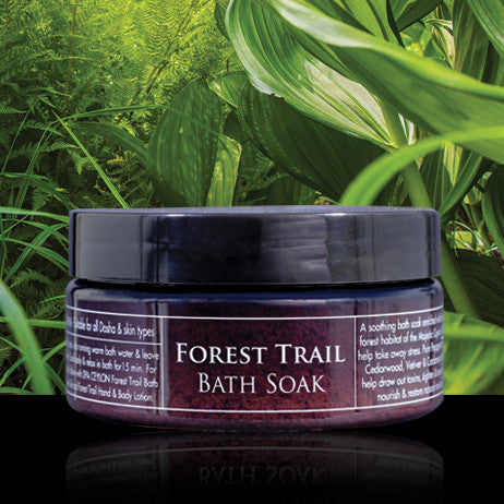FOREST TRAIL - Bath Soak SPA CEYLON Natural Luxury Ayurveda
