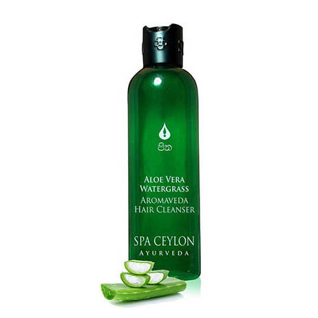 ALOE VERA WATER GRASS - Hair Cleanser SPA CEYLON Natural Luxury Ayurveda
