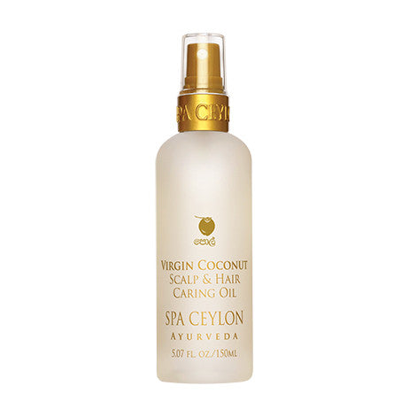 VIRGIN COCONUT - Scalp & Hair Caring Oil SPA CEYLON Natural Luxury Ayurveda
