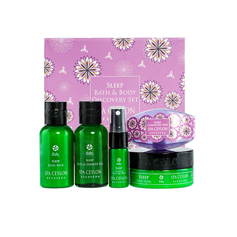 Sleep - Bath & Body Care Discovery Set, GIFT SETS, SPA CEYLON AUSTRALIA
