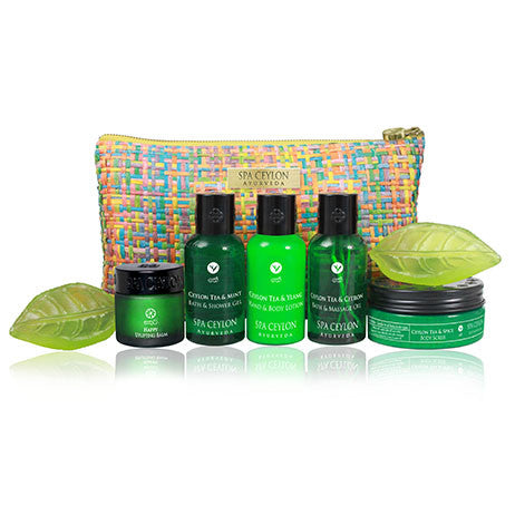 CEYLON TEA - Home Spa Set SPA CEYLON Natural Luxury Ayurveda