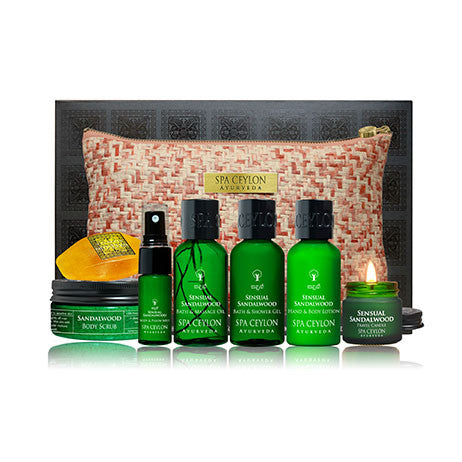 Sensual Sandalwood - Home Spa Set, GIFT SETS, SPA CEYLON AUSTRALIA