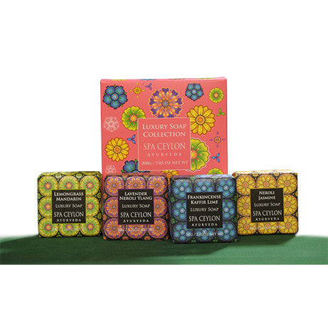 Luxury Soap Collection SPA CEYLON Natural Luxury Ayurveda
