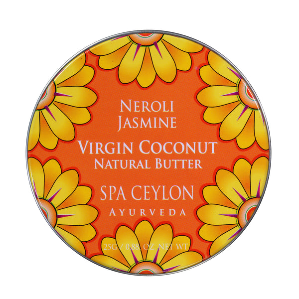 Neroli Jasmine Virgin Coconut Natural Butter SPA CEYLON Natural Luxury Ayurveda