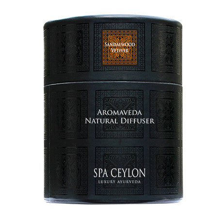 Sandal Vetiver Aromaveda Natural Candle With Paper Tube, General, SPA CEYLON AUSTRALIA