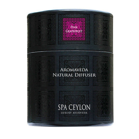 Pink Grapefruit Aromaveda Natural Candle With Paper Tube, General, SPA CEYLON AUSTRALIA