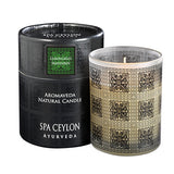 Lemongrass Mandarin - Aromaveda Natural Candle With Paper Tube, Aromaveda Natural Candle, SPA CEYLON AUSTRALIA