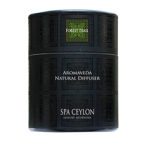 FOREST TRAIL Aromaveda Natural Candle with Paper Tube SPA CEYLON Natural Luxury Ayurveda
