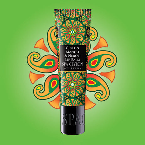 CEYLON MANGO & NEROLI - Lip Balm SPA CEYLON Natural Luxury Ayurveda